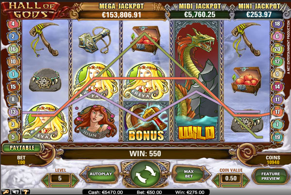 Spiele Hall Of Gods - Video Slots Online